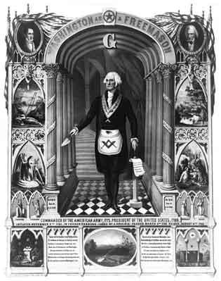 George Washington, Master Mason