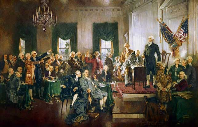 the relevance of the constitution and the declaration of independence in todays society Drafted by benjamin franklin (1706-1790), george bryan (1731-1791), james cannon (1740-1782) and others during the summer of 1776, pennsylvania's constitution borrowed language from the stamp act congress, the first continental congress, and the declaration of independence.