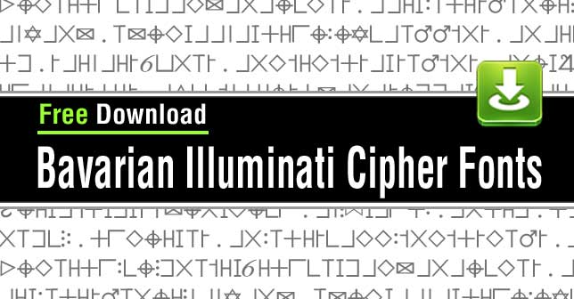 bavarian-illuminati-cypher-fonts