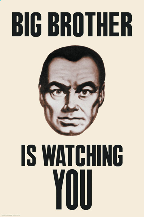 1984 big brother is still watching Trump owes orwell for '1984' big brother is his role model in this dystopian novel, only 'facts' that show big brother in a positive light are allowed to exist truth still matters, even if our government behaves like it is disposable.