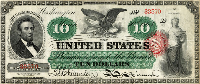 $5 United States Note