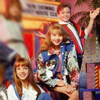 Spears, Aguilera and Timberlake in Mickey Mouse Club