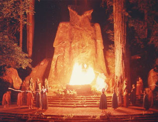 Moloch at the Bohemian Grove