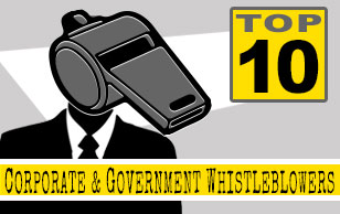 Top 10 Corporate and Government Whistleblower