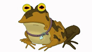 CIA hypnotists have nothing on Hypnotoad