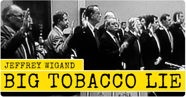 Image result for jeffrey wigand and tobacco